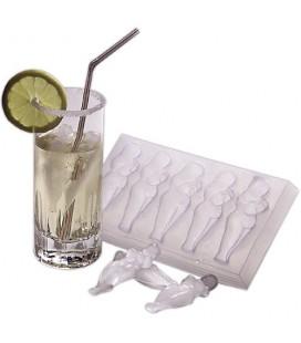 Формички за лед с женско тяло