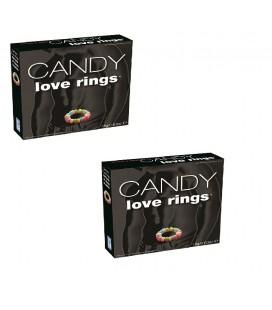 2Бр. Бонбонени пръстена за пениса Love Rings
