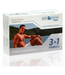 Натурални таблетки Andropharmia - за уголемяване на пенис