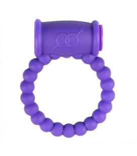 Вибриращ пенис пръстен Cock Ring Purple