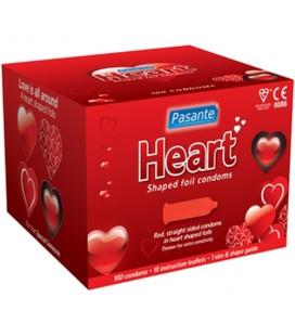 Презервативи с формата на сърце heart
