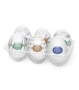Мастурбатори Egg 6 Styles Pack Serie 2