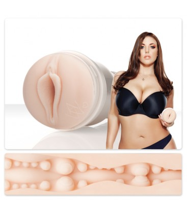 Мастурбатор вагината на Angela White