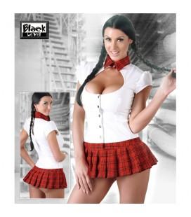 Еротичен костюм Vinyl School Girl
