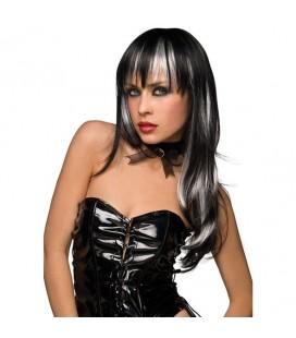 Перука Courtney Black with White