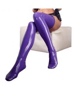 Латексови чорапи Latex purple