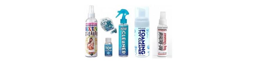 Почистващи препарати за секс играчки